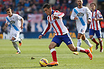 Atletico de Madrid´s Raul Jimenez during 2014-15 La Liga match between Atletico de Madrid and Deportivo de la Coruña at Vicente Calderon stadium in Madrid, Spain. November 30, 2014. (ALTERPHOTOS/Victor Blanco)