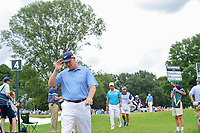 Ernie Els (RSA) departs 4 for the 5th tee during Friday's round 2 of the PGA Championship at the Quail Hollow Club in Charlotte, North Carolina. 8/11/2017.<br /> Picture: Golffile | Ken Murray<br /> <br /> <br /> All photo usage must carry mandatory copyright credit (&copy; Golffile | Ken Murray)