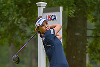 So Yeon Ryu (KOR) watches her tee shot on 11 during round 1 of the U.S. Women's Open Championship, Shoal Creek Country Club, at Birmingham, Alabama, USA. 5/31/2018.<br /> Picture: Golffile   Ken Murray<br /> <br /> All photo usage must carry mandatory copyright credit (© Golffile   Ken Murray)