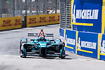 Luca Filippi of Italy from NIO Formula E Team competes in the Formula E Qualifying Session 1 during the FIA Formula E Hong Kong E-Prix Round 1  at the Central Harbourfront Circuit on 02 December 2017 in Hong Kong, Hong Kong. Photo by Marcio Rodrigo Machado / Power Sport Images