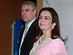 "PRINCE ANDREW.the Duke of York and Nita Ambani, Chairperson Dhirubhai Ambani International School (DAIS) at the Dhirubai Ambani International School in Mumbai, India_May 2, 2012.The Duke of York is on a week-long visit to further enhance ties with India in diverse areas including defence and trade. .The Prince, representing Queen Elizabeth II in the year of her Diamond Jubilee, will also travel to Mumbai, Kolkata, Chennai, Bangalore and north eastern state of Nagaland. .Mandatory Credit Photo: ©Ramesh Nair-Solaris/NEWSPIX INTERNATIONAL..(Failure to credit will incur a surcharge of 100% of reproduction fees)..                **ALL FEES PAYABLE TO: ""NEWSPIX INTERNATIONAL""**..IMMEDIATE CONFIRMATION OF USAGE REQUIRED:.Newspix International, 31 Chinnery Hill, Bishop's Stortford, ENGLAND CM23 3PS.Tel:+441279 324672  ; Fax: +441279656877.Mobile:  07775681153.e-mail: info@newspixinternational.co.uk"
