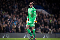 Goalkeeper Ben Foster of WBA closes his eyes during his teams defeat during the Premier League match between Chelsea and West Bromwich Albion at Stamford Bridge, London, England on 12 February 2018. Photo by Andy Rowland.