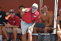 Stanford, CA - Saturday September 17, 2016: John Vargas Stanford falls to USC, 8-4, at Avery Aquatic Center.
