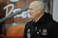 Blackpool manager Simon Grayson <br /> <br /> Photographer Kevin Barnes/CameraSport<br /> <br /> Emirates FA Cup Third Round Replay - Blackpool v Reading - Tuesday 14th January 2020 - Bloomfield Road - Blackpool<br />  <br /> World Copyright © 2020 CameraSport. All rights reserved. 43 Linden Ave. Countesthorpe. Leicester. England. LE8 5PG - Tel: +44 (0) 116 277 4147 - admin@camerasport.com - www.camerasport.com