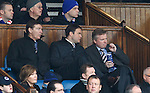 Gordon Smith, Ali Russell and Craig Whyte