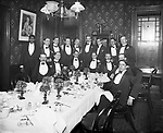 P. Kellogg dinner at the Waterbury Club 13 January 1902.