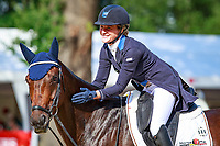 BEL-Lara de Liedekerke-Meier rides Alpaga d'Arville during the Second Day of Dressage at the 2017 POL-FEI European Eventing Championship, Strzegom, Poland. Friday 18 August. Photo Copyright: Libby Law Photography