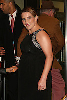 Sam Bailey arriving at James' Jog On To Cancer Event, Kensington Roof Gardens, London. 09/04/2014 Picture by: Henry Harris / Featureflash