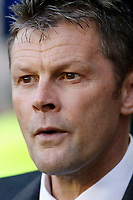 Steve Cotterill, manager of Birmingham City seen during the Sky Bet Championship match between Millwall and Birmingham City at The Den, London, England on 21 October 2017. Photo by Carlton Myrie.