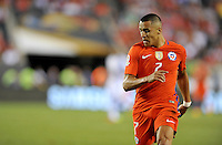 Philadelphia, PA - Tuesday June 14, 2016: Alexis Sanchez during a Copa America Centenario Group D match between Chile (CHI) and Panama (PAN) at Lincoln Financial Field.