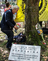 06.08.2014 - 69th Hiroshima Memorial Day in London