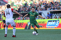 Portland, Oregon - Sunday, October 15, 2017.  Portland Timbers vs. D.C. United in a match at Providence Park.