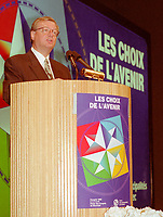 Montreal (qc) CANADA - file Photo - 1992 - <br /> <br /> <br /> 'Union des Municipalites du Quebec convention in April - Gilles Vaillancourt, UMQ Vice-President and Mayor of Laval