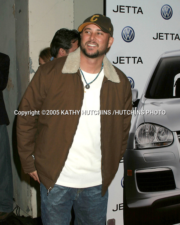 ©2005 KATHY HUTCHINS /HUTCHINS PHOTO.Premiere of the 2005 VOLKSWAGEN JETTA.THE LOT.LOS ANGELES, CA.JANUARY 5, 2005..CRIS JUDD