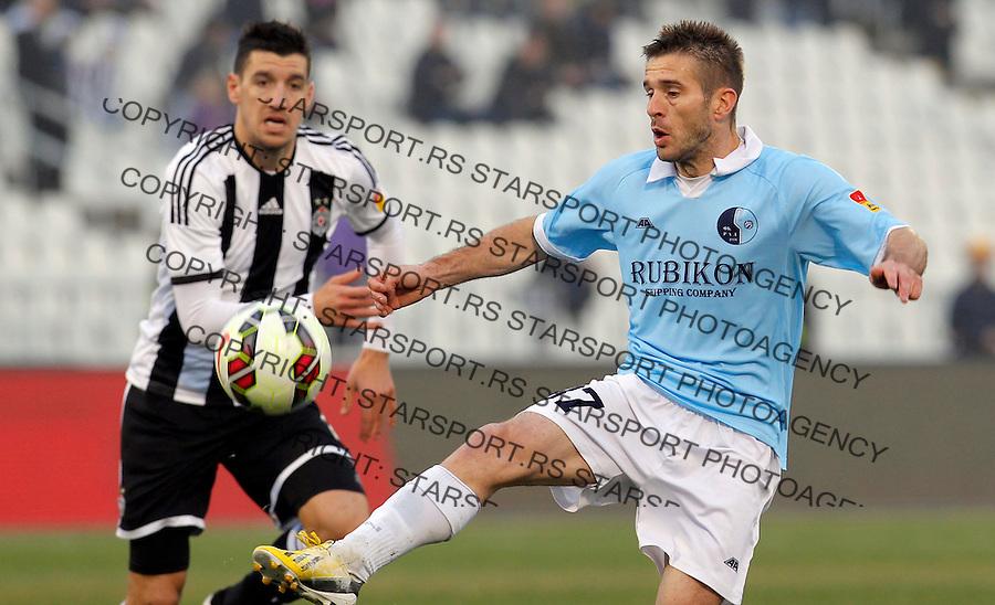 JSL Jelen super liga Srbije Partizan - Rad 14.3.2015.  Beograd, Srbija March 12.2015.  (credit image & photo: Pedja Milosavljevic / STARSPORT)