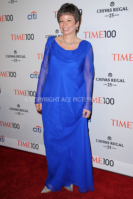 WWW.ACEPIXS.COM . . . . . .April 23, 2013...New York City....Valerie Jarrett attends TIME 100 Gala, TIME'S 100 Most Influential People In The World at Jazz at Lincoln Center on April 23, 2013 in New York City ....Please byline: KRISTIN CALLAHAN - ACEPIXS.COM.. . . . . . ..Ace Pictures, Inc: ..tel: (212) 243 8787 or (646) 769 0430..e-mail: info@acepixs.com..web: http://www.acepixs.com .