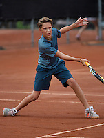 07-08-13, Netherlands, Rotterdam,  TV Victoria, Tennis, NJK 2013, National Junior Tennis Championships 2013, Jasper van Kleef<br /> <br /> <br /> Photo: Henk Koster