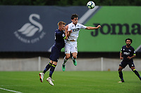 Monday 20th August 2018<br /> Pictured: Swansea City's Liam Cullen<br /> Re: Swansea City U23 v Derby County U23 Premier League 2 match at the Landore Training facility, Swansea, Wales, UK