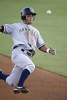 July 11, 2009:  Shortstop Walter Ibarra of the Tampa Yankees during a game at Dunedin Stadium in Dunedin, FL.  Tampa is the Florida State League High-A affiliate of the New York Yankees.  Photo By Mike Janes/Four Seam Images