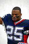 24 December 2006: Buffalo Bills cornerback Kiwaukee Thomas enters the stadium prior to a game against the Tennessee Titans at Ralph Wilson Stadium in Orchard Park, New York. The Titans edged out the Bills 30-29.&amp;#xA; &amp;#xA;Mandatory Photo Credit: Ed Wolfstein Photo<br />