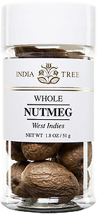 30919 Whole Nutmeg, Small Jar 1.8 oz, India Tree Storefront
