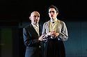 London, UK. 08.02.2017.  Complicite and Schaubuhne Berlin present BEWARE OF PITY, by Stefan Zweig, in the Barbican Theatre. Picture shows: Robert Beyer, Eva Meckbach. Photograph © Jane Hobson.
