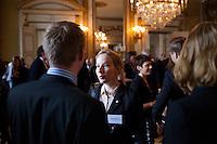 20120426 Seminarium om Värdebaserat ledarskap på Slottet med kungen och prins Daniel. Arrangör Stiftelsen Ungt Ledarskap och Scouterna.