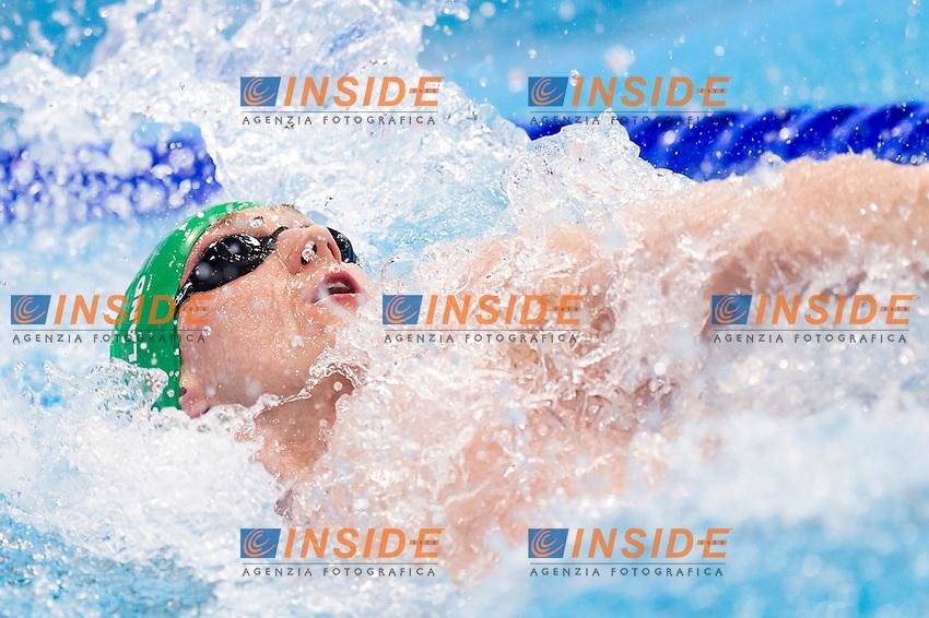 RYAN Shane IRL<br /> London, Queen Elizabeth II Olympic Park Pool <br /> LEN 2016 European Aquatics Elite Championships <br /> Swimming<br /> Men's 100m backstroke final <br /> Day 09 17-05-2016<br /> Photo Giorgio Perottino/Deepbluemedia/Insidefoto
