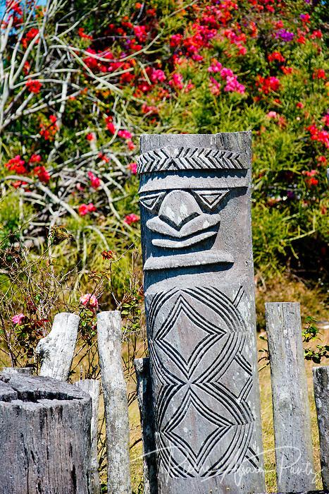 Totem à St Maurice- ile des pins