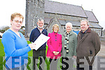 SURVEY: Members of the Ardfert-Kilmoyley Parish Pastoral Council who are conducting a survey of the parish, l-r: Mary Griffin, Martin Ennis, Kathleen Murray, Mary Collins, Fr Tadhg Fitzgerald PP.