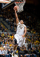 Brandon Smith of California shoots the ball during the game against USC at Haas Pavilion in Berkeley, California on February 17th, 2013.  California defeated USC, 76-68.