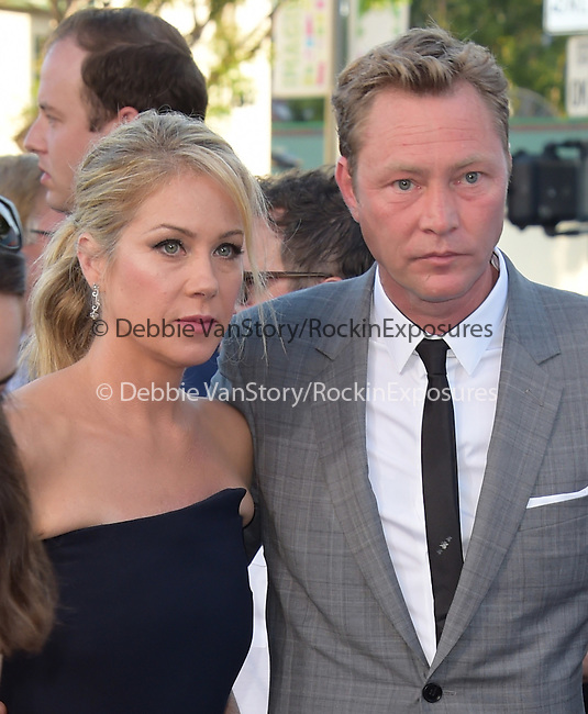 Christina Applegate and Martyn LeNoble attends The Warner Bros. Pictures' L.A. Premiere of Vacation held at The Regency Village Theatre  in Westwood, California on July 27,2015                                                                               © 2015 Hollywood Press Agency