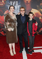 LOS ANGELES, CA - NOVEMBER 13: Danny Elfman, Family, at the Justice League film Premiere on November 13, 2017 at the Dolby Theatre in Los Angeles, California. Credit: Faye Sadou/MediaPunch