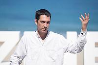 Movie director Pablo Aguero poses during `Eva no duerme´ film presentation at 63rd Donostia Zinemaldia (San Sebastian International Film Festival) in San Sebastian, Spain. September XX, 2015. (ALTERPHOTOS/Victor Blanco) /NortePhoto.com