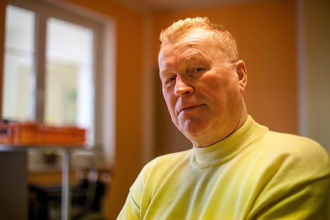 Roman Barfusz, Eigentümer des Pflegeheims in Pilsen. / German elderly live in Czech care home in Pilsen