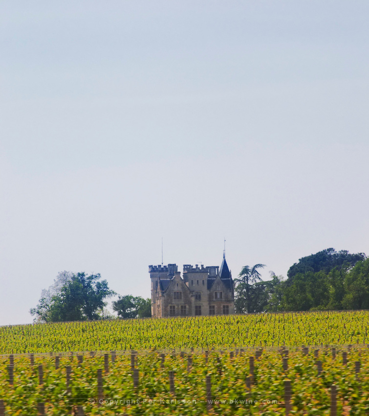 chateau lanessan  Medoc  Bordeaux Gironde Aquitaine France