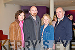 FILM FUN: Having great fun at the Kerry Film Festival awards ceremony at Siamsa Tire, Tralee on Saturday l-r: Maeve Murphy, Steve, Esther and Michael Earls...