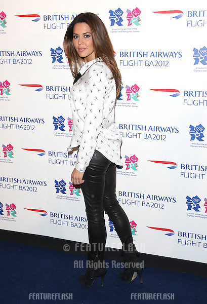 Danielle Lineker at the Flight BA2012 - Launch party - Arrivals.London, England. 03/04/2012 Picture by: Henry Harris / Featureflash