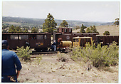 C&amp;TS excursion train stopped at Big Horn wye.<br /> C&amp;TS  Big Horn, NM
