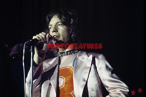 Rolling Stones 1971 Mick Jagger