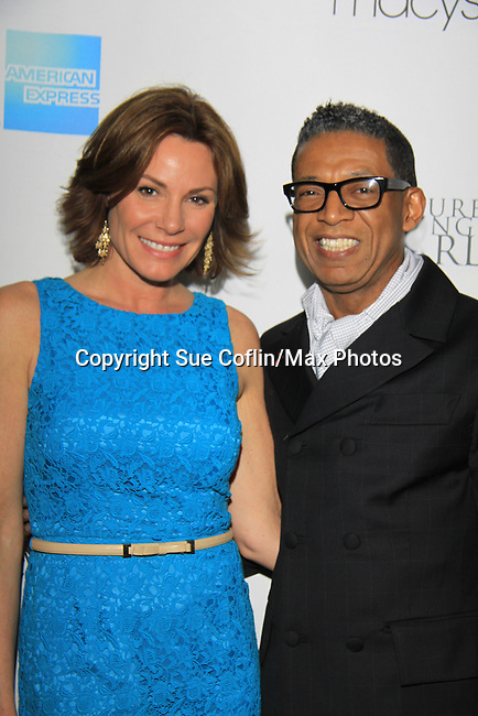 LuAnn de Lesseps Real Housewife of New York and designer B Michael attend The 2013 Skating with the Stars- a benefit gala for Figure Skating in Harlem on April 8, 2013 at Trump Wollman Rink, New York City, New York. (Photo by Sue Coflin/Max Photos)