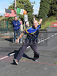 local man Peter clinton representing Leinster in the Road Bowls finals at Baltray. Photo:Colin Bell/pressphotos.ie