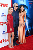 Claire Holt &amp; Matthew Modine &amp; Mandy Moore at the Los Angeles premiere for &quot;47 Meters Down&quot; at the Regency Village Theatre, Westwood. <br /> Los Angeles, USA 12 June  2017<br /> Picture: Paul Smith/Featureflash/SilverHub 0208 004 5359 sales@silverhubmedia.com