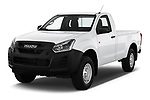 2019 Isuzu D-Max LT 2 Door Pick-up Angular Front stock photos of front three quarter view