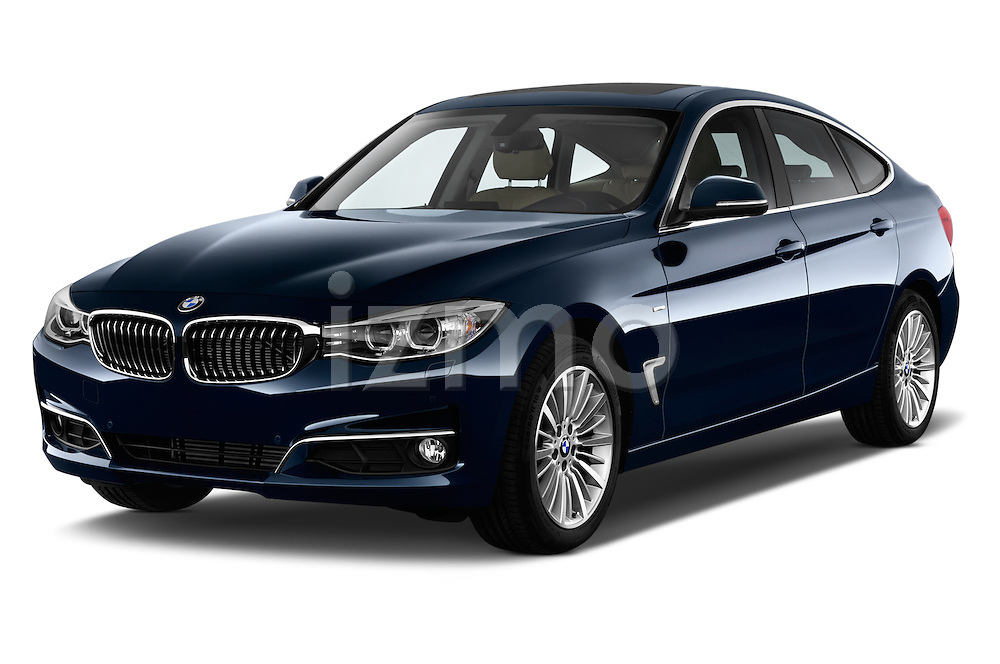 Front three quarter view of a 2013 Bmw SERIES 3 Luxury 5 Door Hatchback 2WD