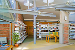 "Biblioteca ""Enric Miralles"". Palafolls. Barcelona. EMBT Miralles Tagliabue Architects"