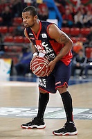 Caja Laboral Baskonia's Omar Cook during Spanish Basketball King's Cup match.February 07,2013. (ALTERPHOTOS/Acero)