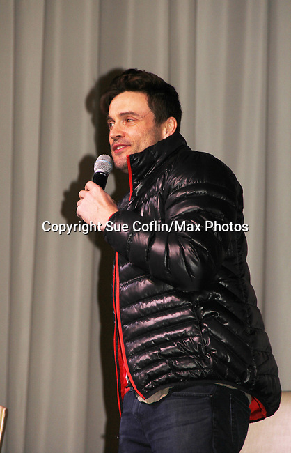 The Young and The Restless actors Daniel Goddard on February 16, 2019 for a fan q & a, meet and great with autographs and photo taking hosted by Soap Opera Festival's Joyce Becker at the Hollywood Casino in Columbus, Ohio. (Photos by Sue Coflin/Max Photos)
