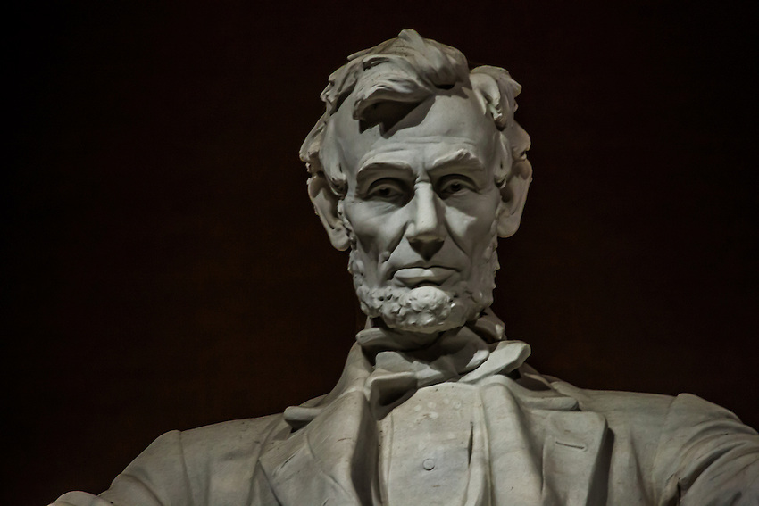 President Lincoln Captured in Stone