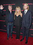 Kurt Russell, Goldie Hawn and Wyatt Russell at The Weinstein L.A. Premiere of The Hateful Eight held at The Arclight Theatre in Hollywood, California on December 07,2015                                                                   Copyright 2015 Hollywood Press Agency